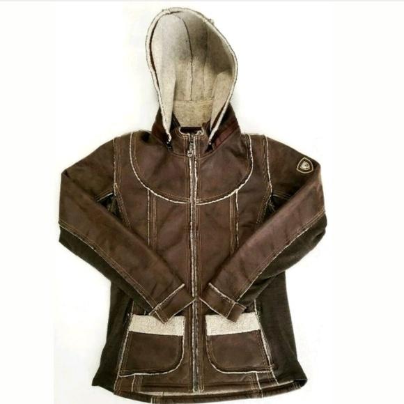Kuhl Jackets & Blazers - Kuhl Womens Jacket Zip Up Dani Sherpa Lined Hooded